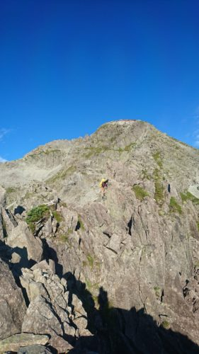 Kita hotaka east ridge japan climbing alps